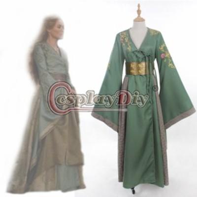 高品質 高級コスプレ衣装 ゲーム・オブ・スローンズ 風 オーダーメイド ドレス Cersei Lannister Dress Game of Thrones