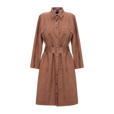 カオス KAOS ミニワンピース&ドレス ブラウン 40 ポリエステル 90% / ポリウレタン 10% ミニワンピース&ドレス