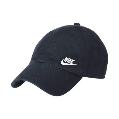 NIKE Women's Heritage86 Futura Classic Cap, Black/White, One Size【並行輸入品】