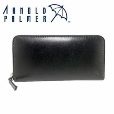 Arnold Palmer アーノルドパーマー 山羊革 長財布 札入れ 4AP3492BK- ブラック 財布 長財布