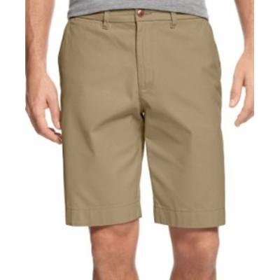 トミー ヒルフィガー メンズ ハーフパンツ・ショーツ ボトムス Men's Big and Tall 8 1/2 Chino Shorts Mallet