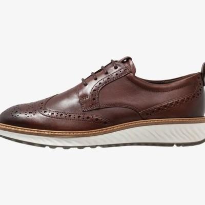エコー メンズ 靴 シューズ ST.1 HYBRID - Casual lace-ups - cognac