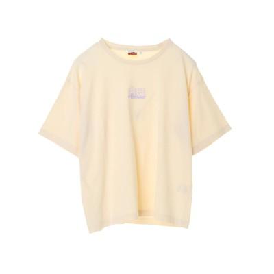 ellesse×earthレターロゴTシャツ