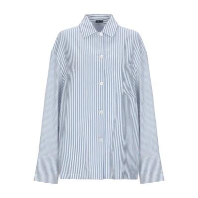 JIL SANDER NAVY シャツ ホワイト 38 シルク 100% シャツ