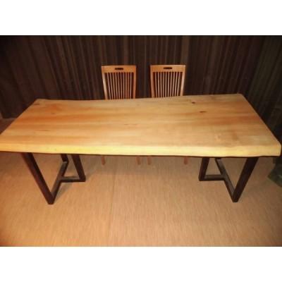 R-027■ 銀杏 イチョウ テーブル 一枚板 無垢材 無垢 ダイニングテーブル センターテーブル リビングテーブル 豪華テーブル ローテーブル カウンター 座卓 天板