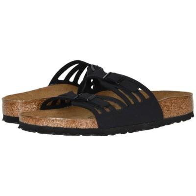 ビルケンシュトック Birkenstock レディース サンダル・ミュール シューズ・靴 Granada Birkibuc(TM) Black Birkibuc(TM)