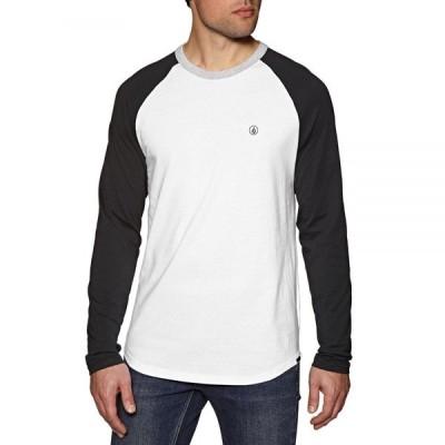 ボルコム Volcom メンズ 長袖Tシャツ トップス Pen Long Sleeve T-Shirt Black
