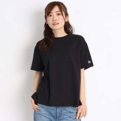 グローブ grove Champion スリットラバーロゴTシャツ (ブラック)