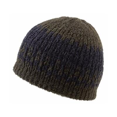Icebox Knitting Yeti Winter Hat, Medium/Large, Olive【並行輸入品】