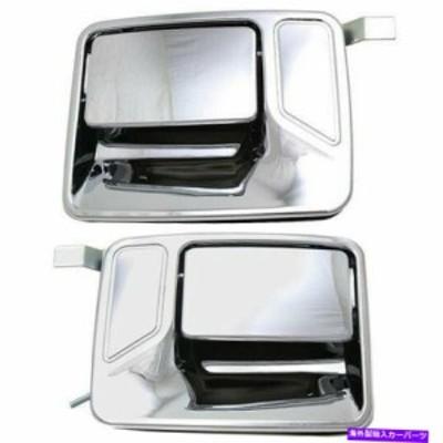 DOOR OUTER HANDLE 99から16フォードF-250スーパーデューティF-350スーパーデューティリア外2PC用ドアハンドルセット Door Handl