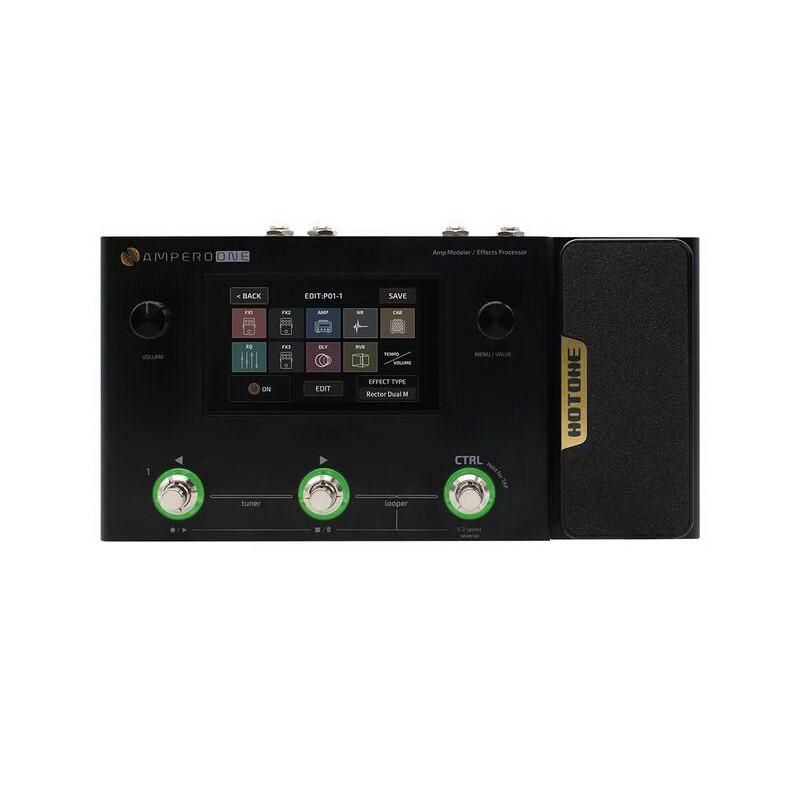 hotone ampero one 地板型電吉他 音箱模擬 綜合效果器/錄音介面(無卡分期實施中)