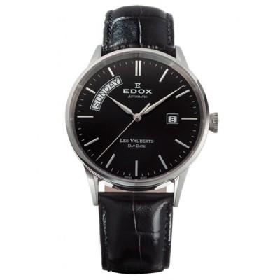 83007-3-NIN EDOX エドックス レ・ヴォベール クロノグラフ デイデイト オートマチック メンズ腕時計 正規品 送料無料