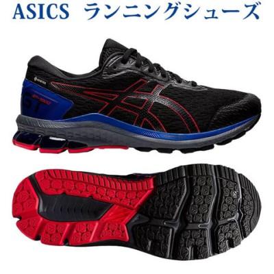 アシックス ランニングシューズ GT-1000 9 G-TX ブラック/ブラック 1011A889-003 メンズ 2021AW RFCL