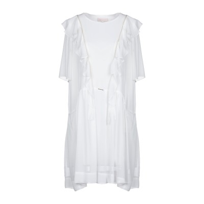 MARY D'ALOIA® ミニワンピース&ドレス ホワイト 44 ポリエステル 100% / ポリウレタン ミニワンピース&ドレス