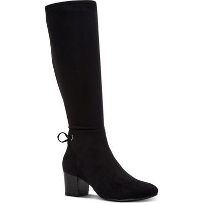 チャータークラブ Charter Club レディース ブーツ シューズ・靴 Jaccque Tall Stretch Boots Black