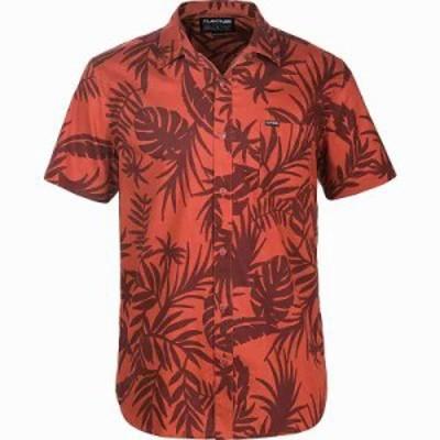 ダカイン その他トップス Poipu Short Sleeve Woven Shirt Brick Wailua Palm