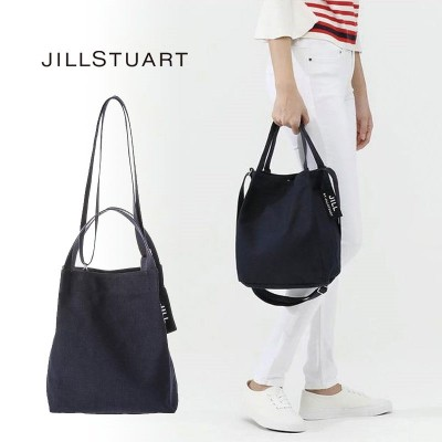 [JILLSTUART] JLBA0E901N2 ジルスチュアート ロゴ エコバック ショルダーバッグ クロスバッグ トートバッグ レディース メンズ  韓国ファッション