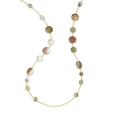 イッポリスタ レディース ネックレス・チョーカー アクセサリー 18K Polished Rock Candy Crazy Eights Necklace in Dahlia