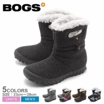 母の日 ボグス スノーブーツ ショートブーツ レディース Bモック ウール 防寒 シューズ 靴 BOGS B-MOC WOOL 72106