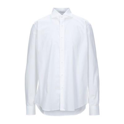 TRU TRUSSARDI シャツ ホワイト 43 コットン 100% シャツ