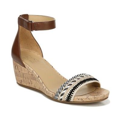 ナチュライザー サンダル シューズ レディース Areda Ankle Strap Wedge Sandals Natural Multi