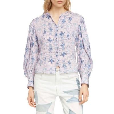 レディース 衣類 トップス Isabel Marant Etoile Womens Tilo Floral Top ブラウス&シャツ