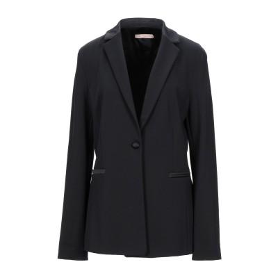 PENNYBLACK テーラードジャケット ブラック 46 レーヨン 62% / ナイロン 33% / ポリウレタン 5% テーラードジャケット