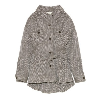 Lily Brown / ビッグシルエットシャツジャケット WOMEN ジャケット/アウター > その他アウター