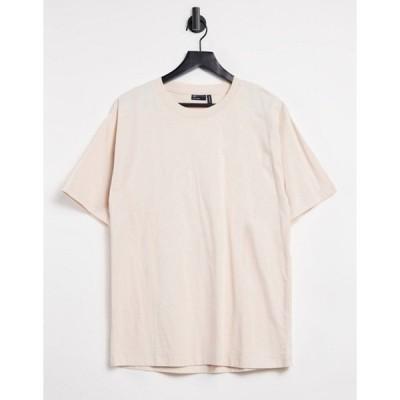 エイソス レディース シャツ トップス ASOS DESIGN ultimate oversized T-shirt in cream