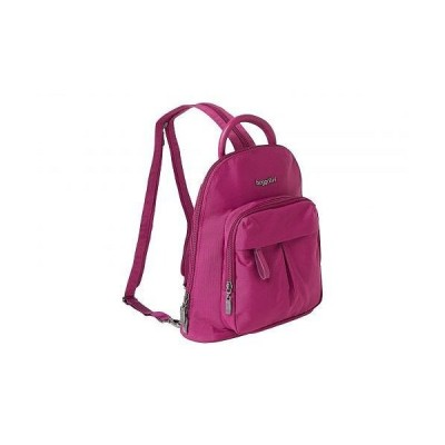 Baggallini バッガリーニ レディース 女性用 バッグ 鞄 バックパック リュック Legacy 2.0 Convertible Backpack 2.0 with RFID - Wild Plum
