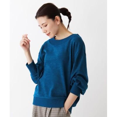 SHOO・LA・RUE / 【M-LL/抗菌防臭】袖タックニット WOMEN トップス > ニット/セーター