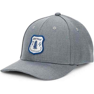 マーモット Marmot メンズ キャップ 帽子 Hemp Cap Charcoal Hemp/Varsity Blue