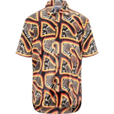 トリプルエス ワールド コープ SSS WORLD CORP. メンズ シャツ トップス Patterned Shirt Black