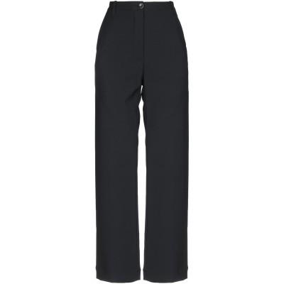 NINE:INTHE:MORNING パンツ ブラック 25 ポリエステル 53% / ウール 43% / ポリウレタン 4% パンツ