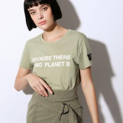 BECAUSE ウォッシュド Tシャツ / BECAUSE WASHED T-SHIRT