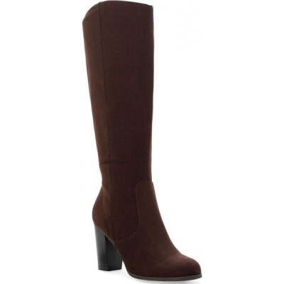 スタイル&コー Style & Co レディース ブーツ シューズ・靴 Addyy Dress Boots Chocolate Micro
