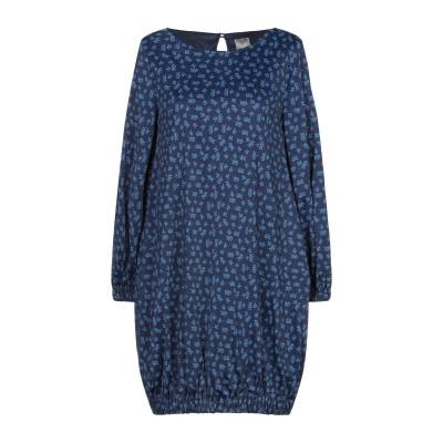 CAMICETTASNOB ミニワンピース&ドレス ブルー 40 レーヨン 100% ミニワンピース&ドレス