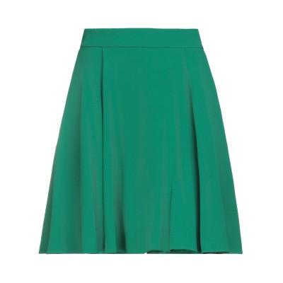 ドルチェ & ガッバーナ DOLCE & GABBANA ひざ丈スカート グリーン 42 レーヨン 51% / アセテート 46% / ポリウレタン