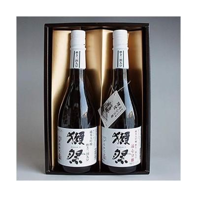 日本酒セット 獺祭 飲み比べ 純米大吟醸 39と遠心分離 39 720ml 2本 感謝金蓋紙箱入り