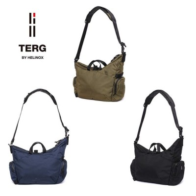 【TERG ターグ】ホーボーバッグ S ショルダーバッグ 手提げバッグ メンズ レディース 全3色 鞄 バッグ