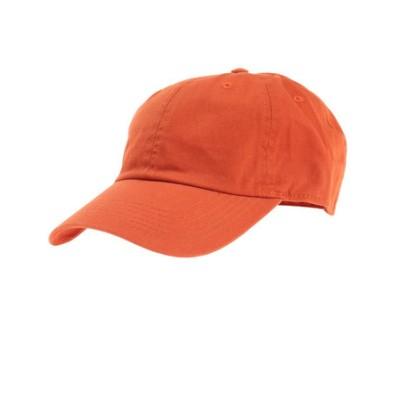 ベースボール ロー キャップ ツイル 1423 rust 4589682787233