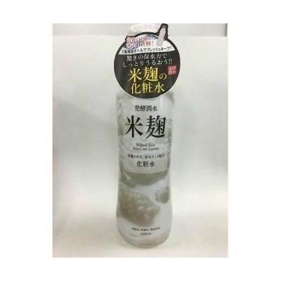 【お一人様1個限り特価】 SOC 渋谷油脂 発酵潤水 米麹 配合化粧水 460ml
