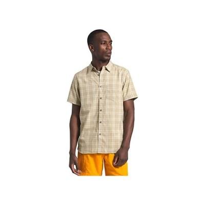 ザ・ノースフェイス Short Sleeve Hammetts Shirt II メンズ シャツ トップス Twill Beige Check Plaid