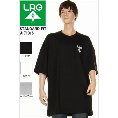 LRG エルアールジー STANDARD FIT T-SHIRTS ブラックホワイトヘザーグレー Tシャツ LRG スケーターストリート lrg tシャツ