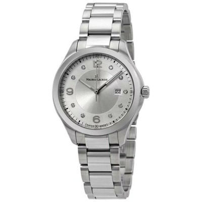 腕時計 モーリスラクロア Maurice Lacroix Miros Ladies Diamond Watch - MI1014-SS002-150-1