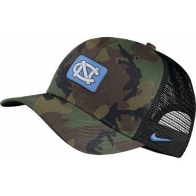 ナイキ メンズ 帽子 アクセサリー Nike Men's North Carolina Tar Heels Camo Classic99 Adjustable Hat -