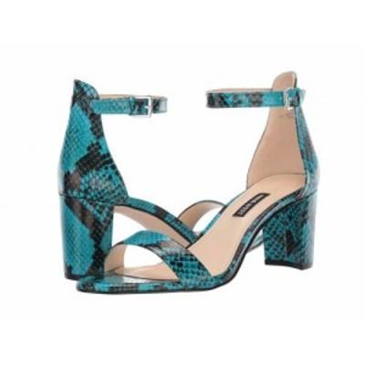 Nine West ナインウエスト レディース 女性用 シューズ 靴 ヒール Pruce Block Heeled Sandal Aqua【送料無料】