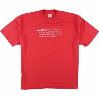 90年代 Hanes プリントTシャツ USA製 メンズL /eaa076935