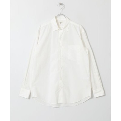 URBAN RESEARCH DOORS / アーバンリサーチ ドアーズ Scye Washed Poplin Boxy R/C Shirts