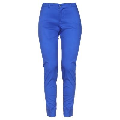 SANDRO FERRONE パンツ ブライトブルー 40 コットン 97% / ポリウレタン 3% パンツ